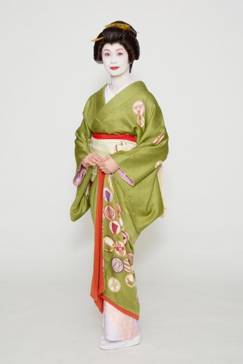 松山検番 芸妓 八千代鷺