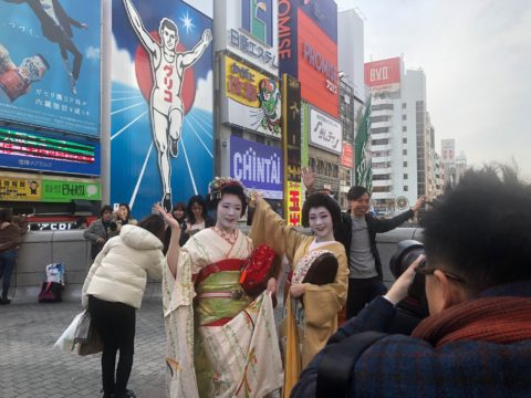 大阪南地復興プロジェクト進行中